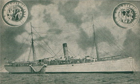 Murder on a Gambling Ship on the High Seas