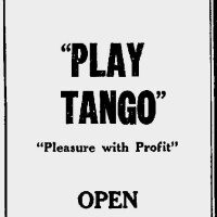 War Disables Nevada Tango Club Owners